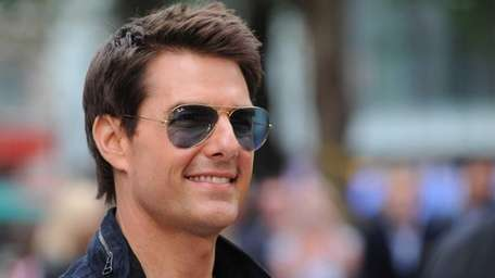 Tom Cruise attends the European premiere of