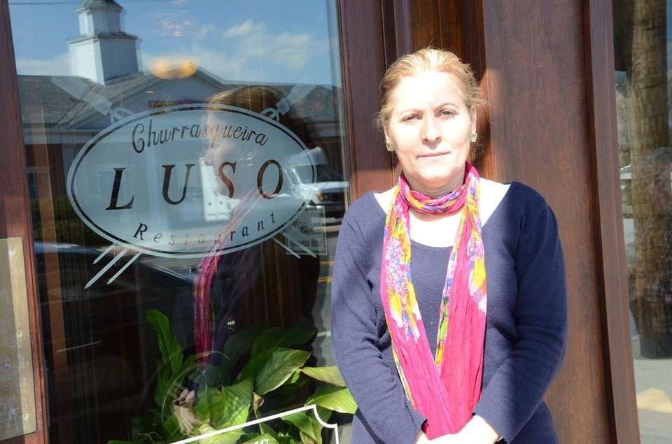 Luisa Batista, 57, of St. James, opened Luso