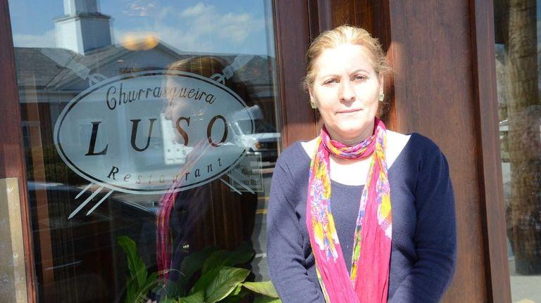Luisa Batista, 57, of St. James, opened Luso