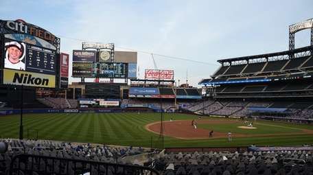 A view of Citi Field during an MLB