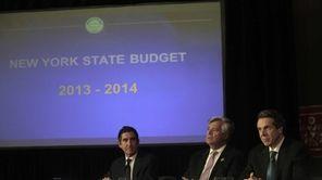 Senate Co-Leaders Democrat Jeffery D. Klein and Republican