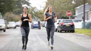Lindenhurst sisters, Erica and GinaMarie Ferretti stayed in shape