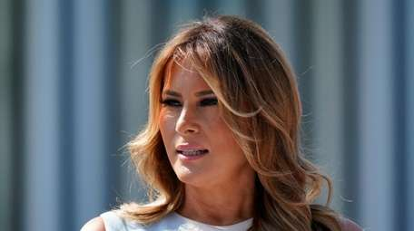 First Lady Melania Trump at the White House