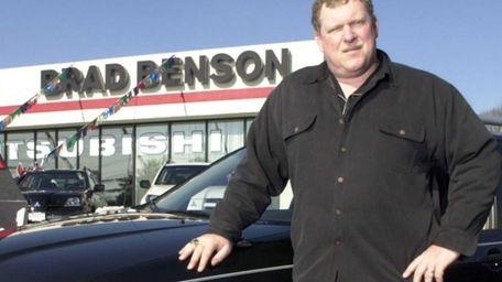 Car dealer Brad Benson, a former Giants center,
