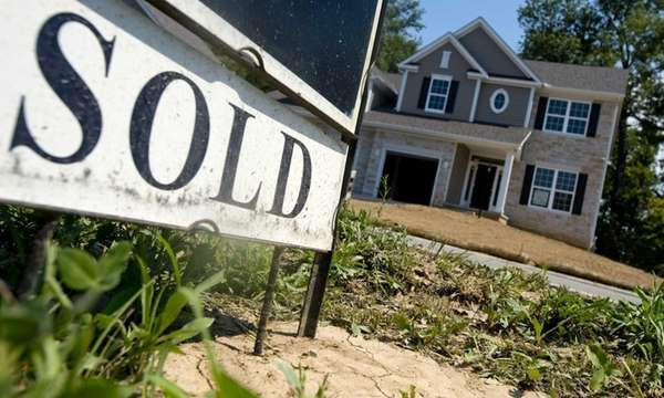 More homes were marked sold across the nation