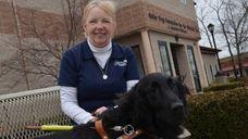 Legally blind since age 11, Linda Jones, 63,