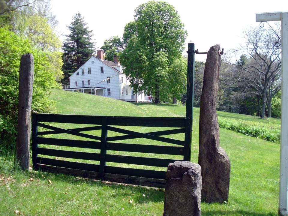 The circa 1766 Joseph Lloyd Manor House is