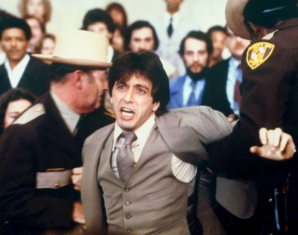 """And Justice for All"" (1979): Pacino received his"