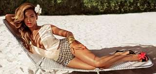 Beyonce in an ad for H&M's new summer
