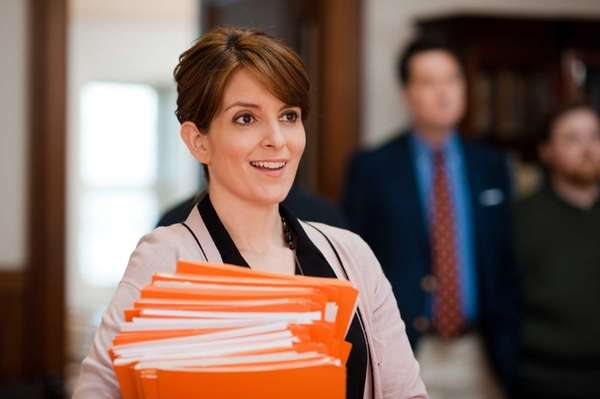 "Tina Fey in a scene from ""Admission."""