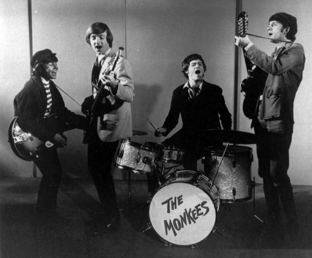 This 1966 photo shows The Monkees, singing group.