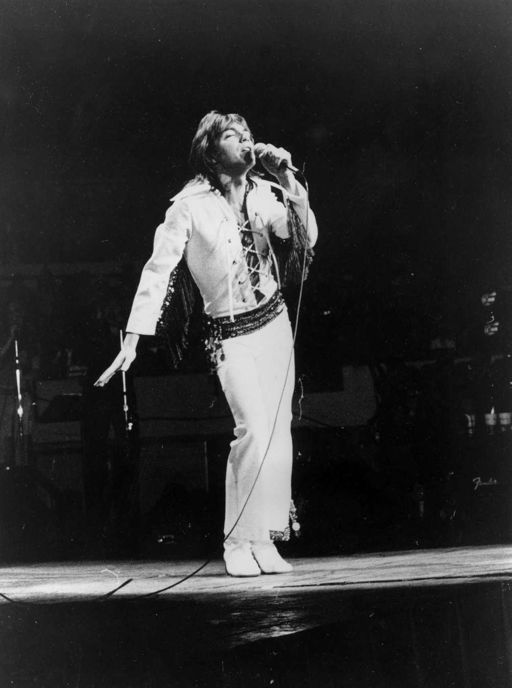 Pop singer David Cassidy performs at Madison Square