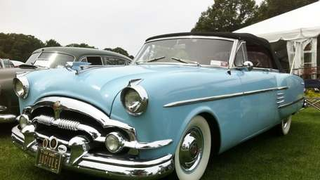 Wayne Hedlund owns this 1954 Packard Convertible.