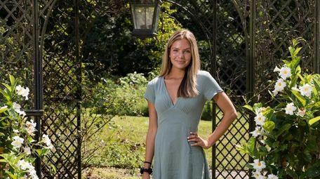Locust Valley graduate Avery DeNatale says working