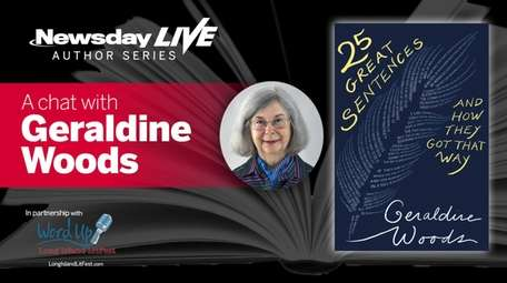 Nonfiction author and former English teacher Geraldine Woods,