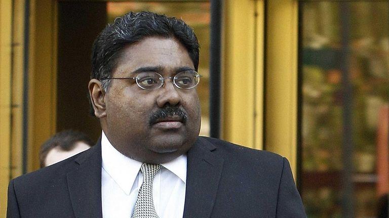 Raj Rajaratnam, co-founder of Galleon hedge fund group,