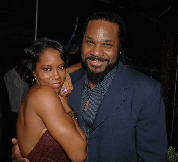 Actors Regina King and Malcolm-Jamal Warner attend the