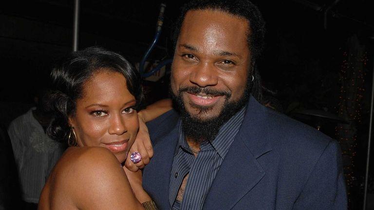 Actors Regina King and Malcolm-Jamal Warner attend the