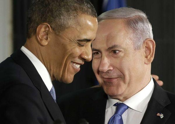 President Barack Obama and Israeli Prime Minister Benjamin