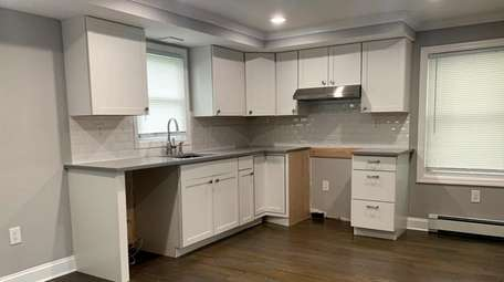 Priced at $399,900, this three-bedroom, 1½-bath house in