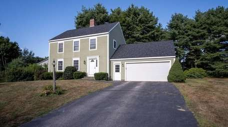Listed for $399,000 in Scarborough, Maine, this three-bedroom,