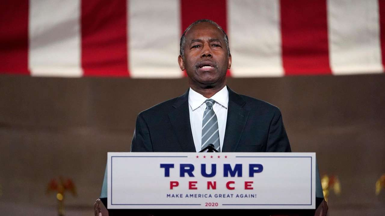 Carson, the highest-ranking Black member of President Donald
