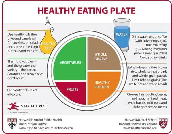 The Healthy Eating Plate created by nutrition experts