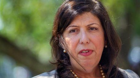 Nassau District Attorney Madeline Singas, shown in July