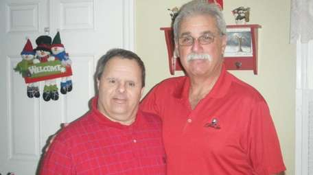 Paul Giordano and his brother Richard during the