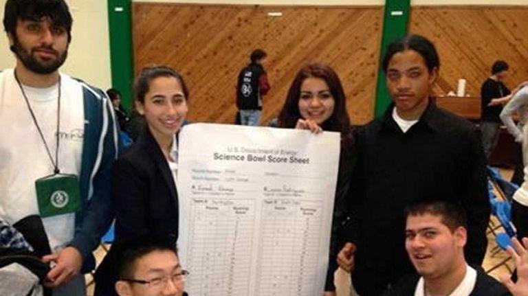 Huntington High's team won the 2013 New York