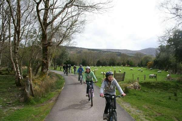 Bike through Killarney National Park in Ireland and