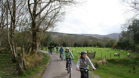 Bike through Killarney National Park in Ireland and