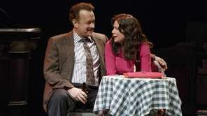 Tom Hanks as Mike McAlary and Maura Tierney