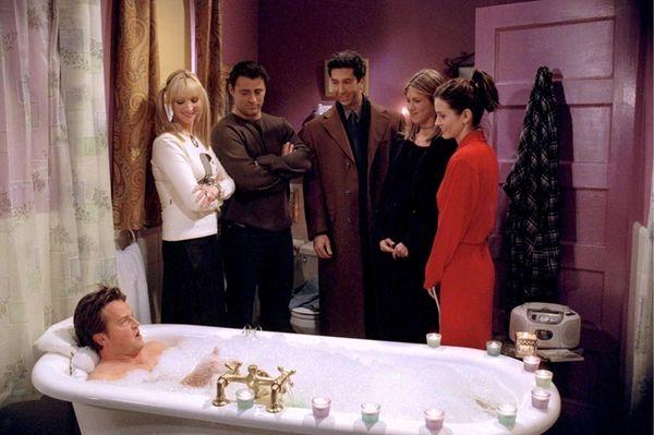 """Friends"" (1994-2004) -- The adventures of six twenty-something"