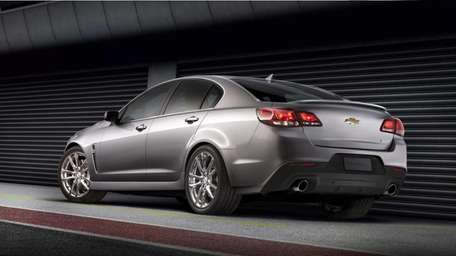 The all-new 2014 Chevrolet SS performance sedan is