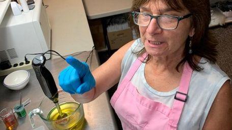Soap maker Angela Carillo of Alegna Soap on