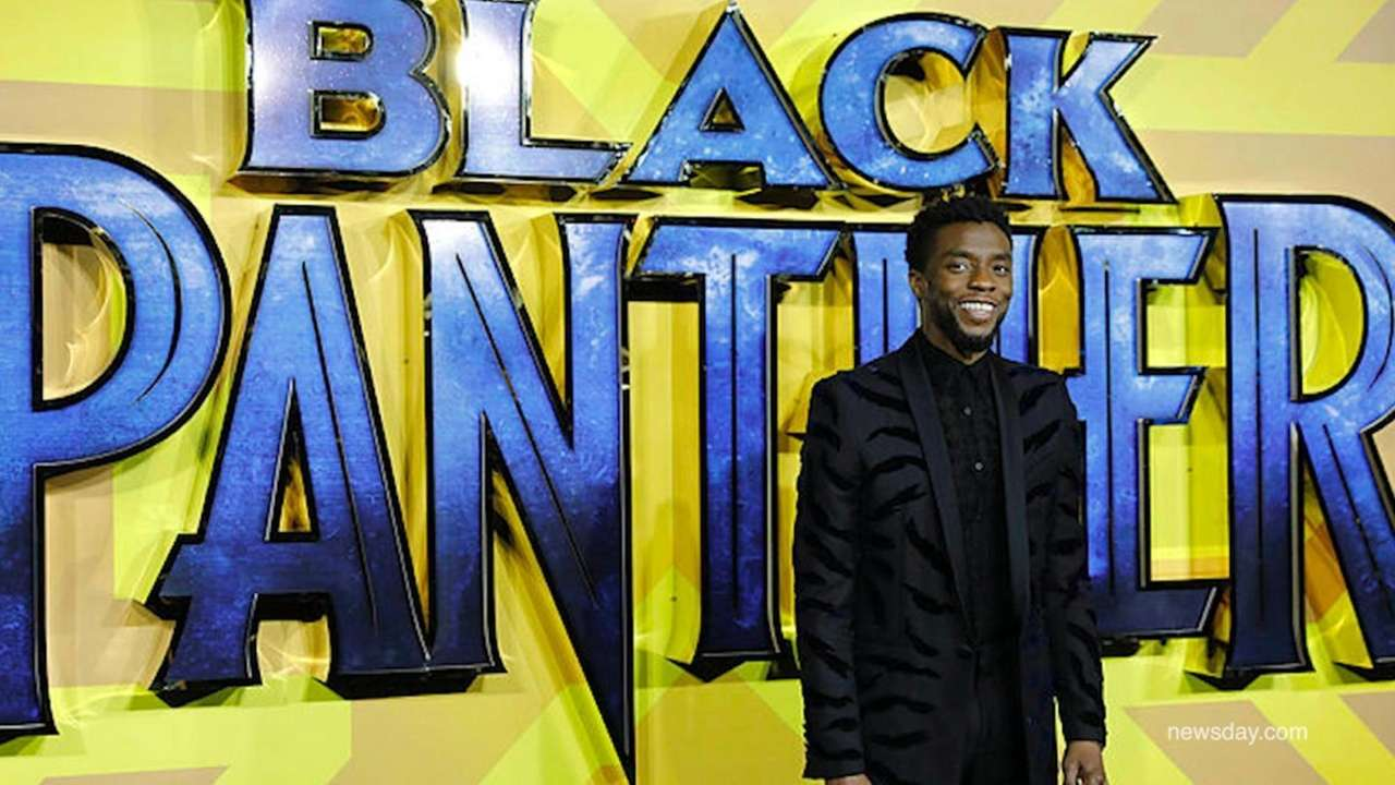 Actor Chadwick Boseman, who played legendary figures such