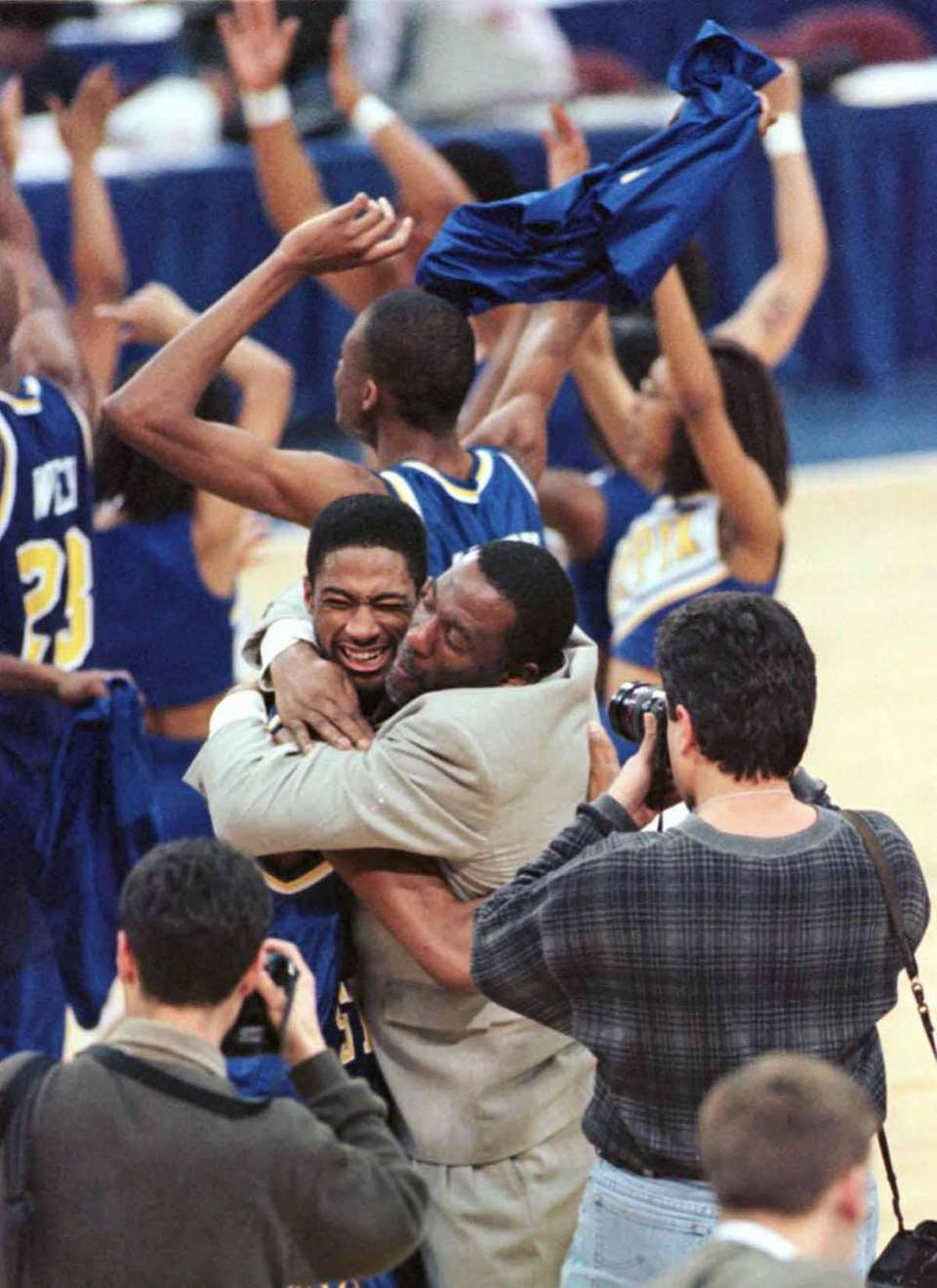 1997 NCAA Tournament No. 15 Coppin State upset