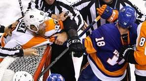 Jakub Voracek #93 of the Philadelphia Flyers and