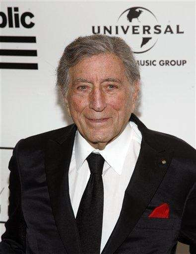 Singer Tony Bennett attends the 2013 Amy Winehouse