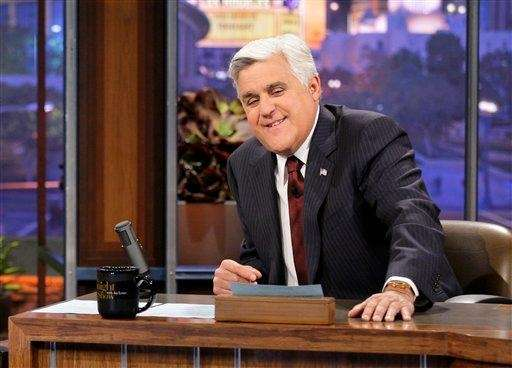 "Jay Leno, host of ""The Tonight Show with"