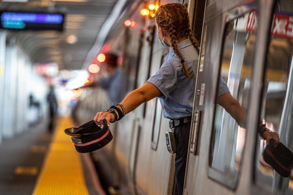 Scenes around Jamaica LIRR station in Jamaica. MTA