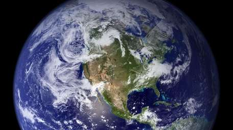 The planet Earth is shown in this undated