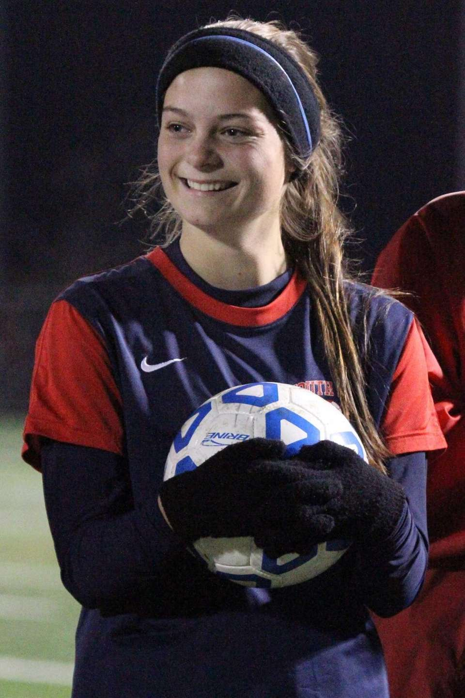 MICHAELA LYNCH Midfielder, South Side, Sr. Shown here