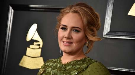On Sunday, Adele posted a photo herself in