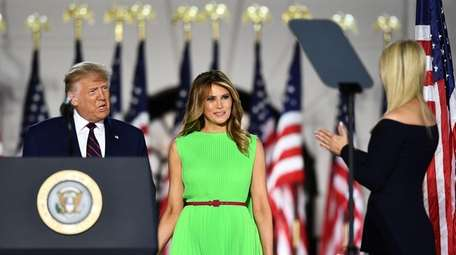 Ivanka Trump introduces President Donald Trump and First