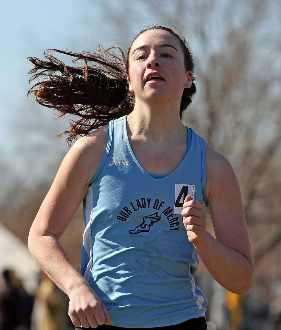 Our Lady of Mercy's Charlotte Molloy takes first