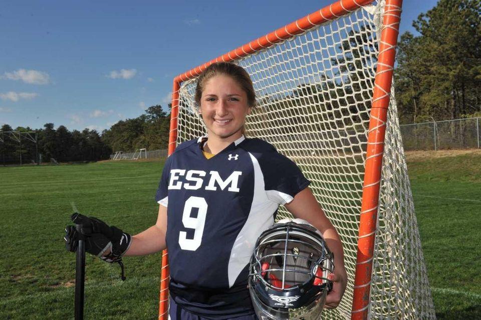 SAMANTHA GIACOLONE Goalie, Eastport-South Manor, So.