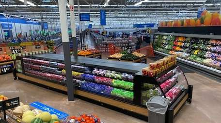 The newly expanded Walmart store in Farmingdale includes