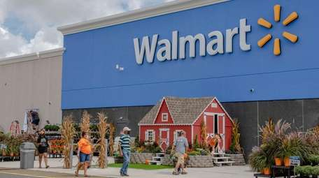 Walmart's remodeling of the 13-year-old store in Farmingdale